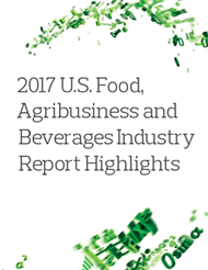 2017 U.S. Food, Agribusiness and Beverages Industry Report Highlights
