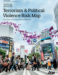 2016 Terrorism & Political Violence Risk Map