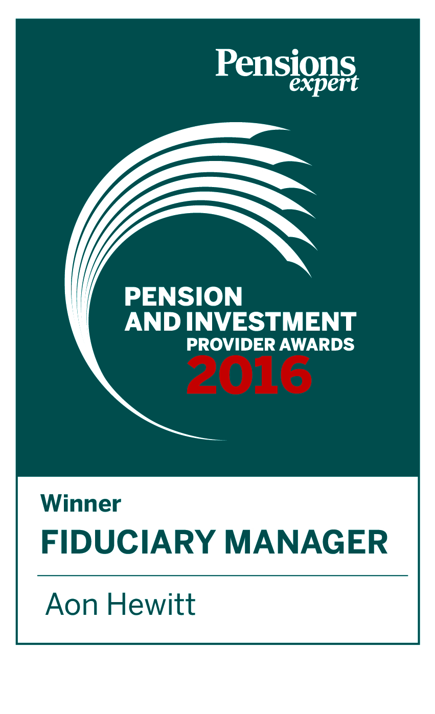Fiduciary Manager of the Year - 2016 FT Pension & Investment Provider Awards