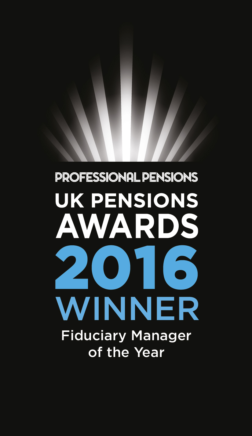 Fiduciary Manager of the Year - 2016 Professional Pensions Awards