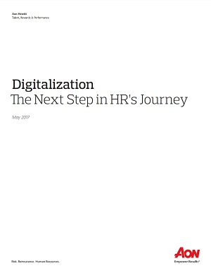 Digitalization: the next step in HR's journey