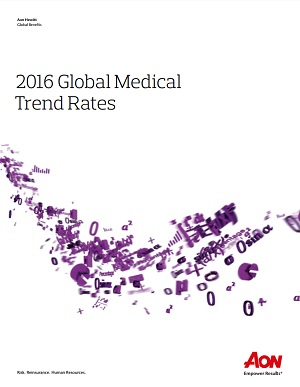 2016 Global Medical Trend Rates