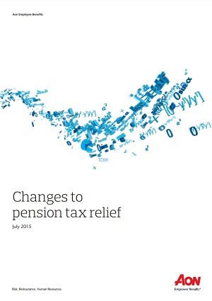 Changes to pension tax relief