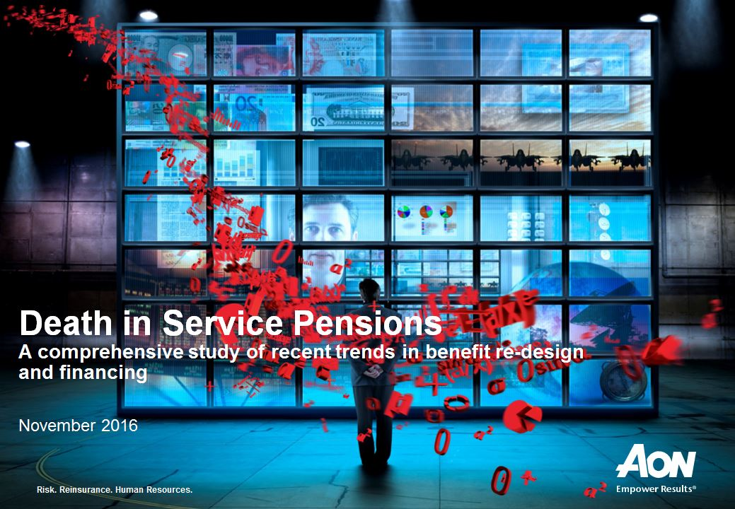 Death in Service Pension Survey