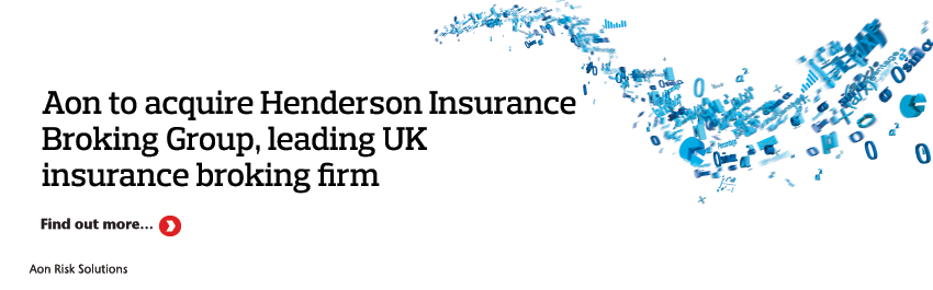 Aon to acquire Henderson Insurance Broking Group