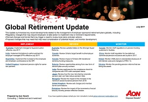 Global Retirement Update - July 2017