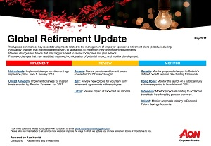 Global Retirement Update - May 2017