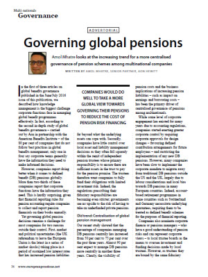 Governing Global Pensions