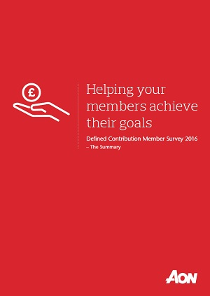 2016 Aon DC Member Survey Summary
