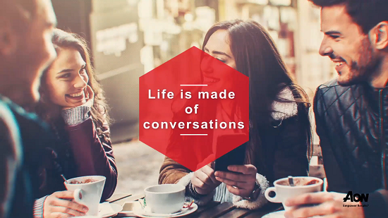 Life is made of conversations