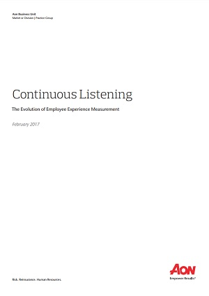 Continuous Listening: The Evolution of Employee Experience Measurement