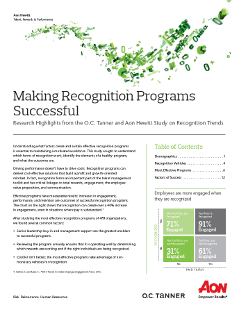 Making Recognition Programs Successful