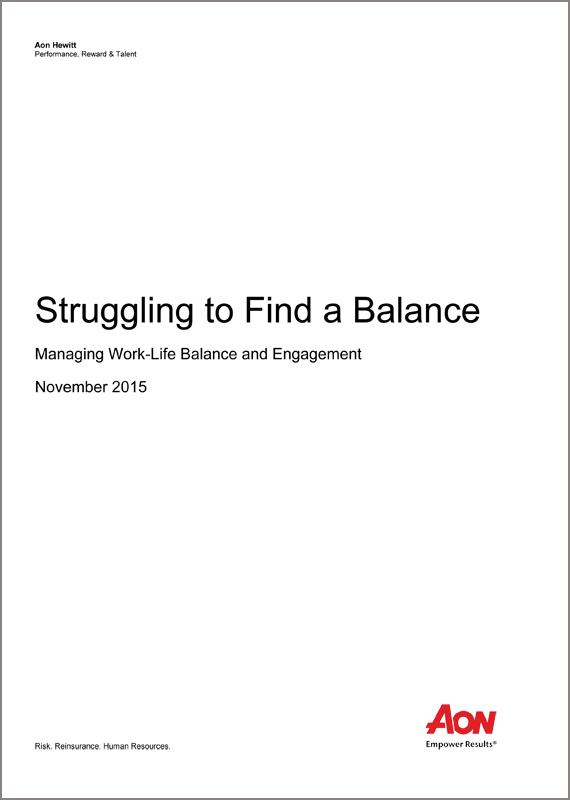 Struggling to Find a Balance Managing Work-Life Balance and Engagement