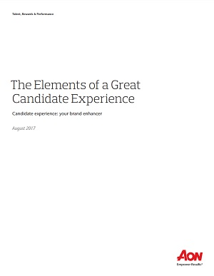 The Elements of a Great Candidate Experience