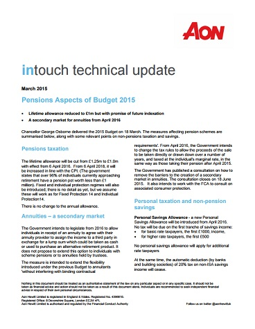 intouch technical update