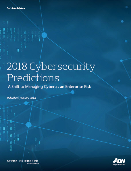 Cybersecurity 2018 Predictions
